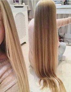 Красивые волосы со спины   фото018