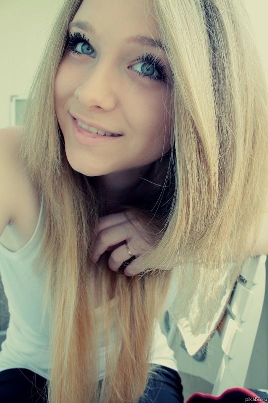 Красивые девушки подростки блондинки024
