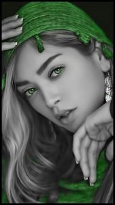 Красивые девушки с зелеными глазами   фото 028