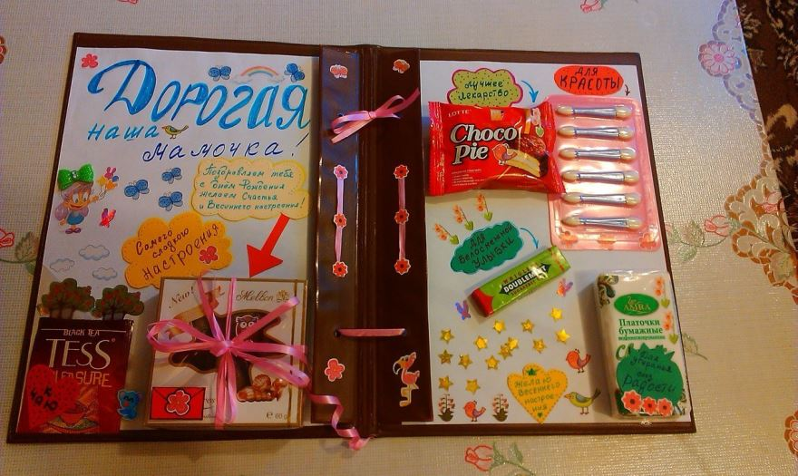 Красивые идеи подарков на День Рождения с фотографиями   подборка (12)
