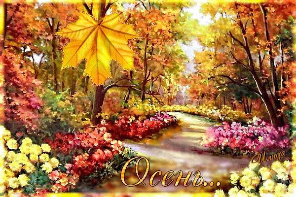 Красивые и яркие картинки про осень009