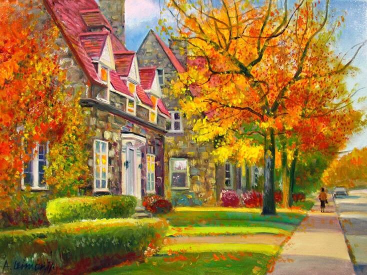 Красивые и яркие картинки про осень016