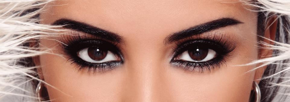 Красивые карие глаза девушки фото и картинки 003