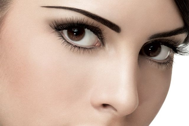 Красивые карие глаза девушки фото и картинки 005