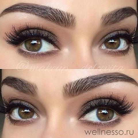 Красивые карие глаза девушки фото и картинки 008