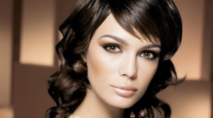 Красивые карие глаза девушки фото и картинки 015