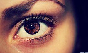 Красивые картинки на аву глаза карие 022