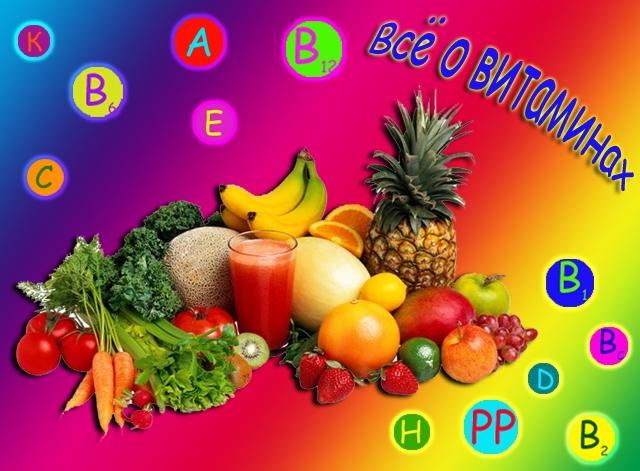 Красивые картинки на тему витамины 023