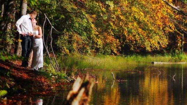 Красивые картинки пары влюбленные осенью 011