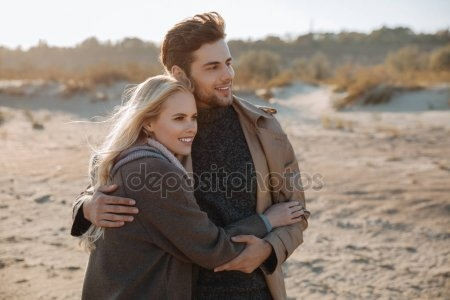 Красивые картинки пары влюбленные осенью 020
