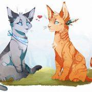 Красивые картинки с котами воителями 021
