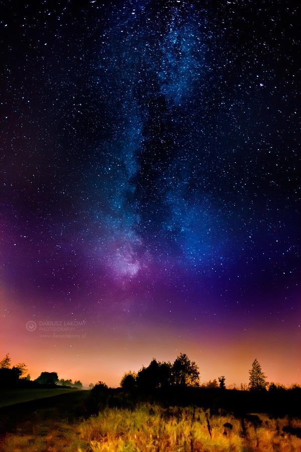 Красивые картинки с ночным небом 006