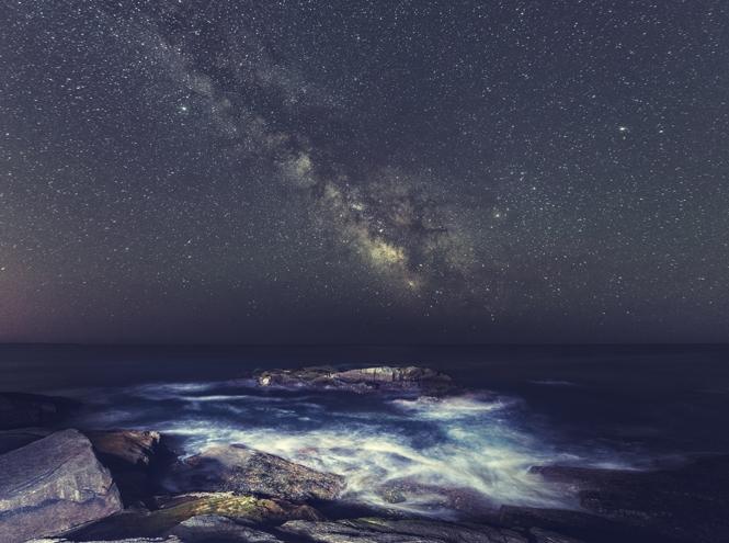 Красивые картинки с ночным небом 007