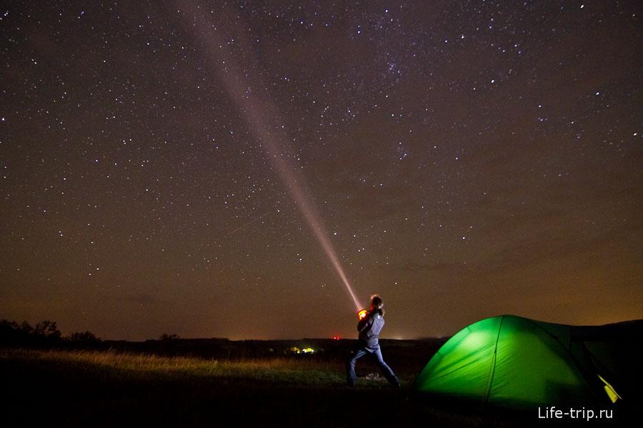 Красивые картинки с ночным небом 011