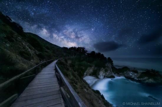 Красивые картинки с ночным небом 014