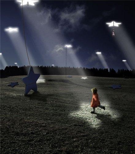 Красивые картинки с ночным небом 015