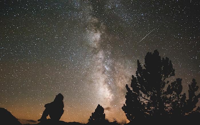 Красивые картинки с ночным небом 017