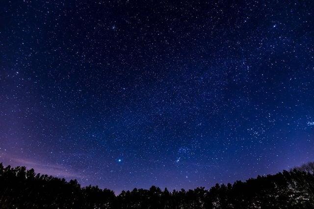 Красивые картинки с ночным небом 020