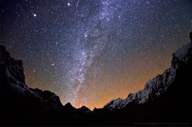 Красивые картинки с ночным небом 021
