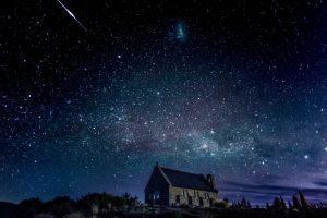 Красивые картинки с ночным небом 025