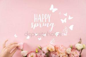 Красивые картинки цветочки и бабочки023