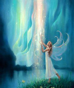 Красивые картины с эльфами и феями 019