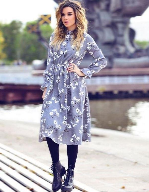 Красивые наряды Ксении Бородиной фото 008