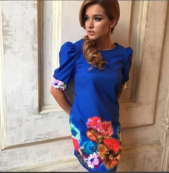 Красивые наряды Ксении Бородиной фото 012