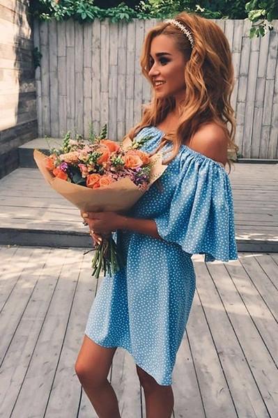 Красивые наряды Ксении Бородиной фото 013