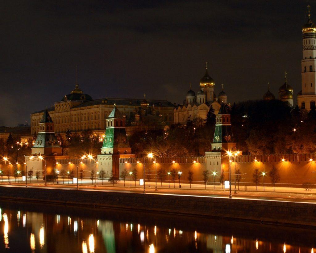Россия красивая ночь картинки