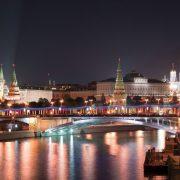 Красивые обои Москва ночная020
