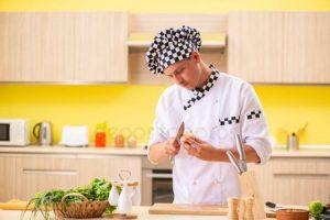 Красивые рисунки поваров на кухне020