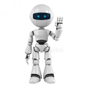 Красивые рисунки роботов для детей 022