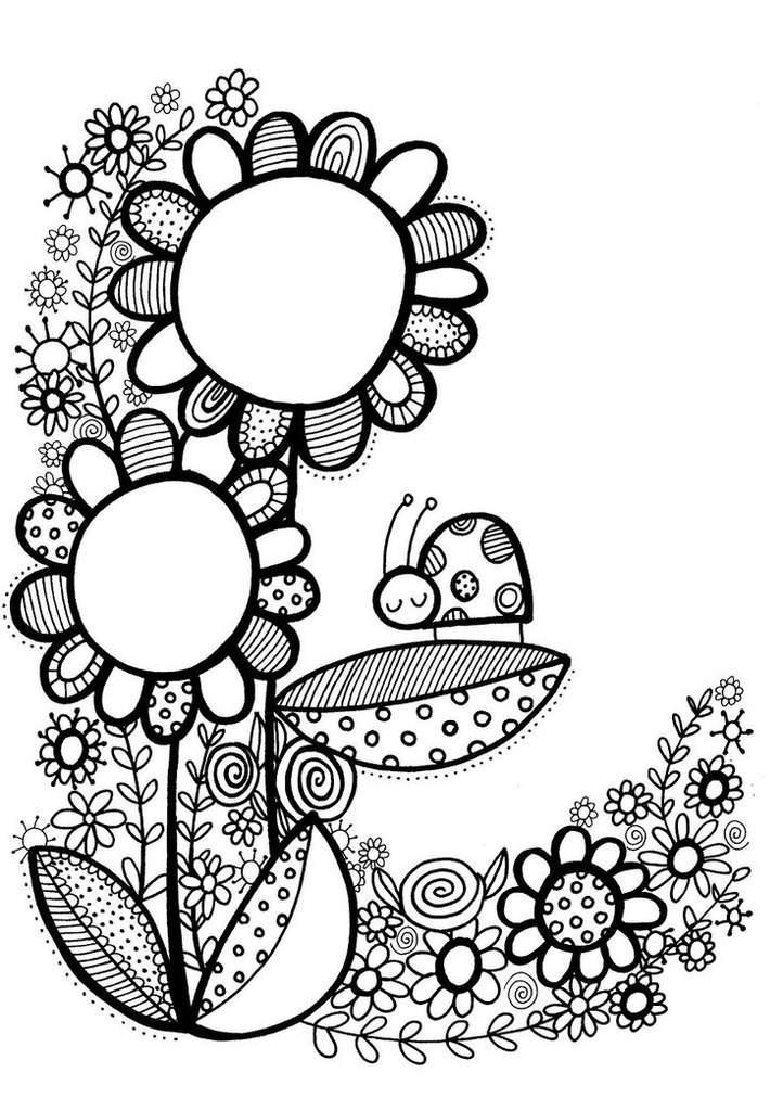 Красивые узоры легкие рисунки 001