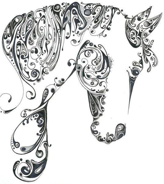 Красивые узоры легкие рисунки 021