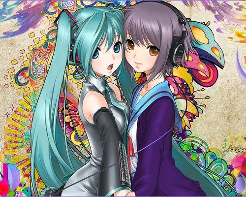 Красивые фотки аниме на аву 011