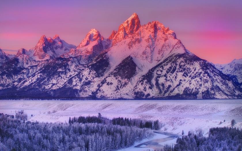 Красивые фото горы ночью   подборка004