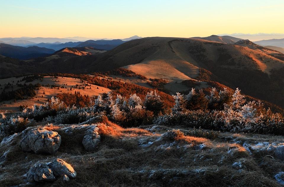 Красивые фото горы ночью   подборка005