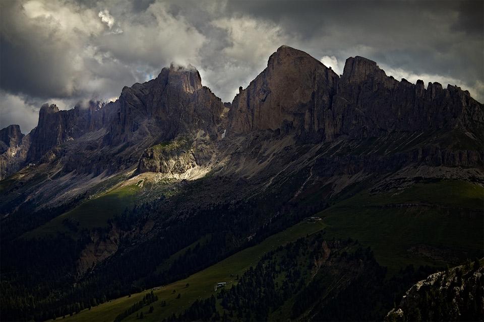 Красивые фото горы ночью   подборка015