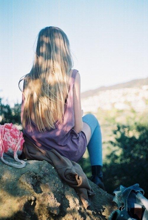 Красивые фото девушек спиной весной 004