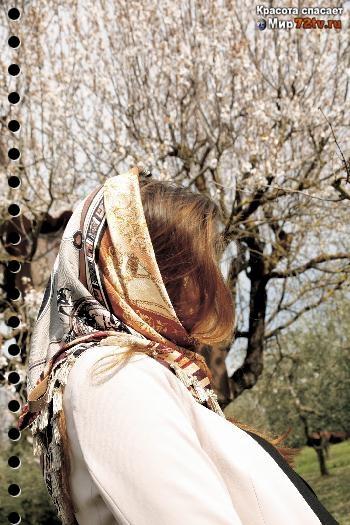 Красивые фото девушек спиной весной 006