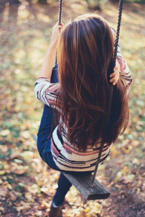 Красивые фото девушек спиной весной 008