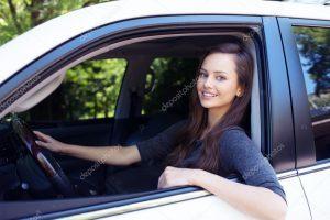 Красивые фото женщин в авто 021