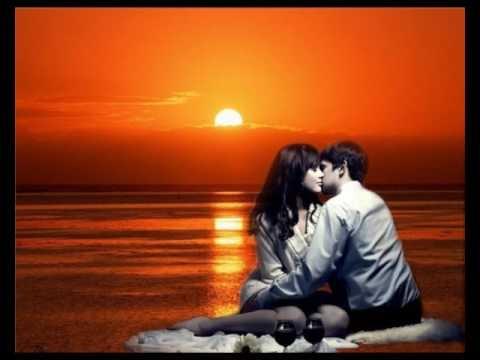 Красивые фото любовь на закате 016