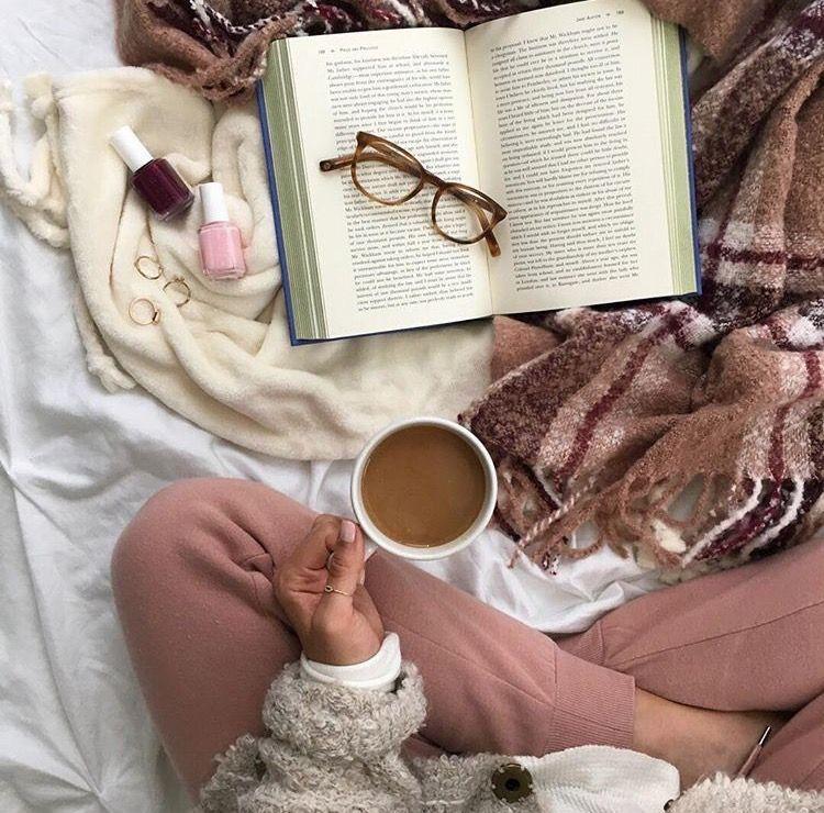 Красивые фото осень, кофе, плед   сборка 020