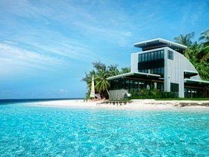 Красивый дом на берегу моря   фото 024