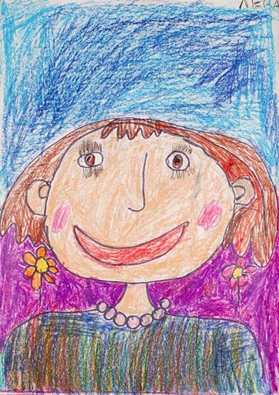 Красивый рисунок маме от дочки   подборка 007