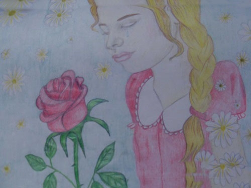 Красивый рисунок маме от дочки   подборка 009