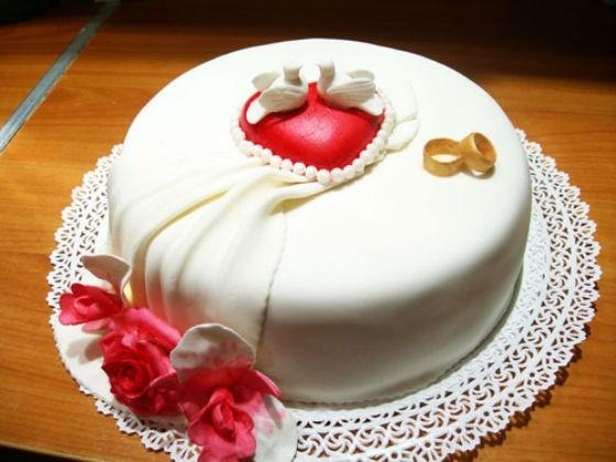 Красивый торт вместе 7 лет   фото 006