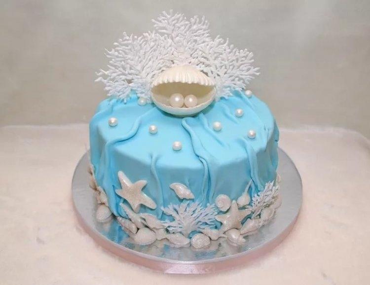 Красивый торт вместе 7 лет   фото 009